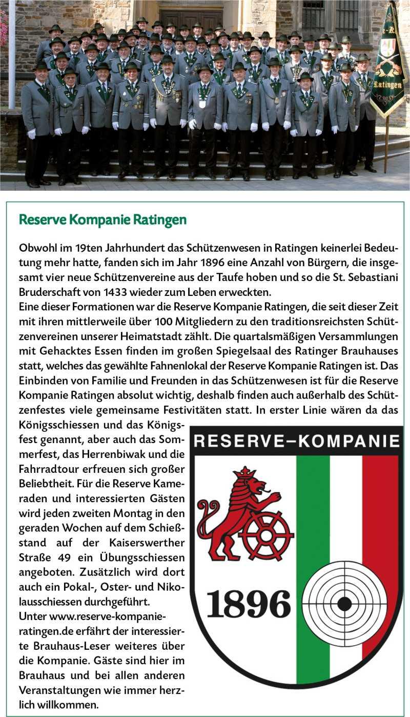 Brauhaus Ratingen Reserve Kompanie