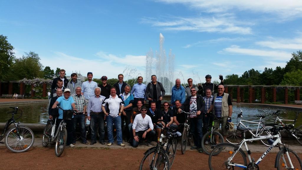 Unsere Fahrradtour An Christi Himmelfahrt