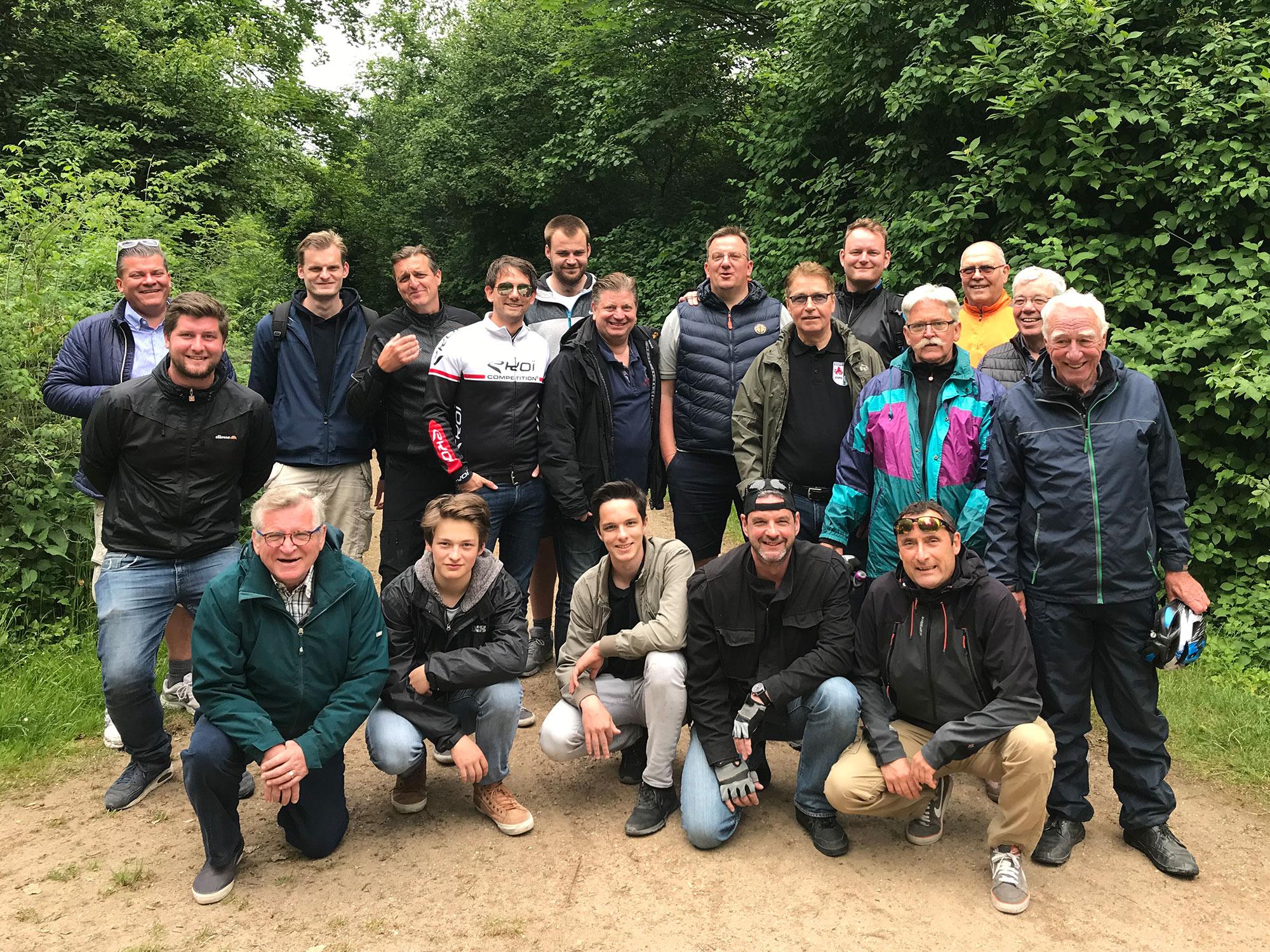 Vatertag-Fahrradtour 2018